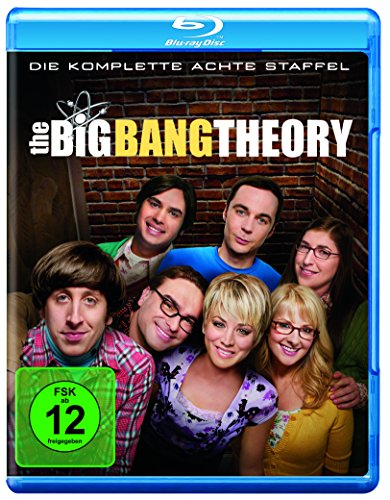 Cover The Big Bang Theory - Staffel 8 [Blu-ray]
