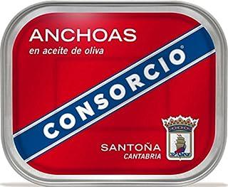 comprar comparacion Anchoas en Aceite de Oliva Consorcio 335gr.