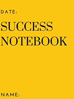My Success Notebook