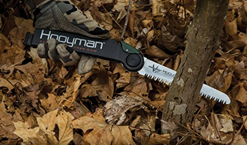 Hooyman 655227 10 Foot Extendable Tree Saw with Wrist Lanyard and Sling for Cutting Trimming Hunting and Camping