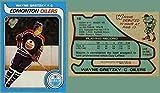 1979 Topps #18 WAYNE GRETZKY Rookie Card HOF Edmonton Oilers Canadian REPRINT - Hockey Card. rookie card picture