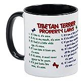 CafePress Tibetan Terrier Property Laws 2 Mug Unique Coffee Mug, Coffee Cup