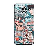 Coque en gel TPU anti-taches pour Xiaomi Redmi Note 9 Pro 5G/Mi 10T Lite-Slam-Dunk Anime 4 Noir