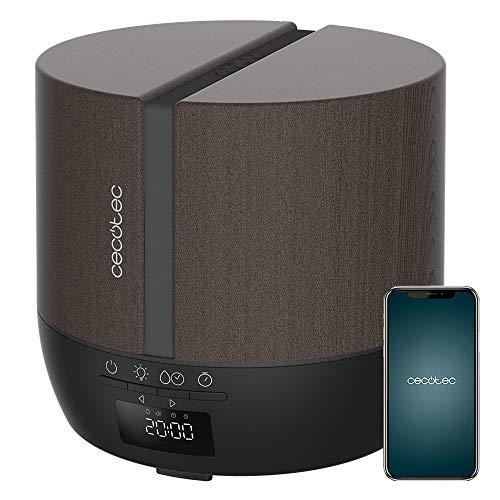 Cecotec Difusor de aromas PureAroma 550 Connected Black Woody. Capacidad...