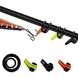 Fishing Rod Hook Keeper Colorful Fishing Pole Lure Jig Holder Small Fishing Gaff Holder (9pcs Hook Keeper)