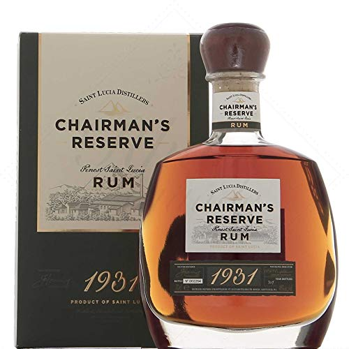 Chairman's Reserve Chairman'S Reserve 1931 Finest St. Lucia Rum 46% Vol. 0,7L In Giftbox - 700 ml