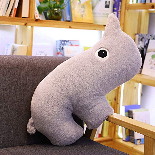 suxiaopei Nueva Forma Animal Creativa Elefante cocodrilo Ciervo niño Almohada cojín Juguete Dibujos Animados muñeca Cama Cabeza Almohada 50 cm Aproximadamente 0.5 kg Oso Hormiguero