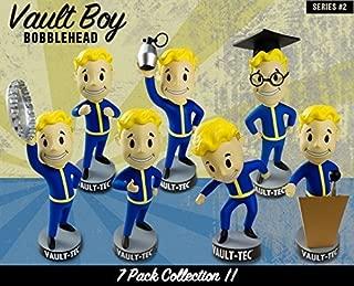 Fallout 3 Vault Boy Bobblehead Set of 7 Figures - Series 2 Bobble Head