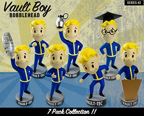 Fallout 3 Vault Boy Bobblehead Set of 7 Figures - Series 2 Bobble Head by Fallout