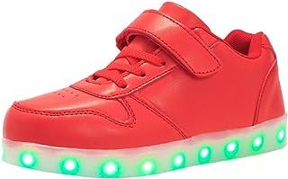 MaxMandy 2021 Modello Scarpe LED Colorate Ricarica USB Scarpe da Ginnastica di Fascia Alta di Fascia Bassa Scarpe da Ballo...