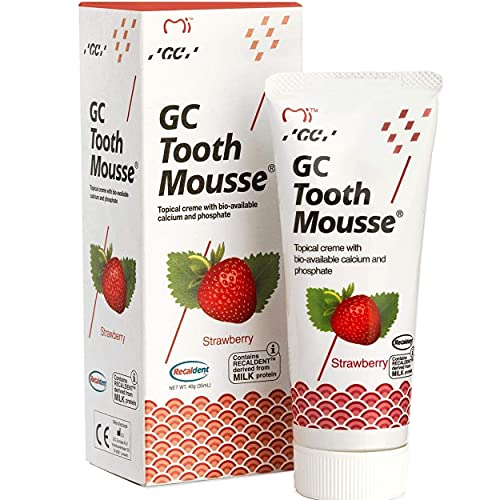 GC Tooth Mousse Erdbeere Creme, 40 g Zahncreme