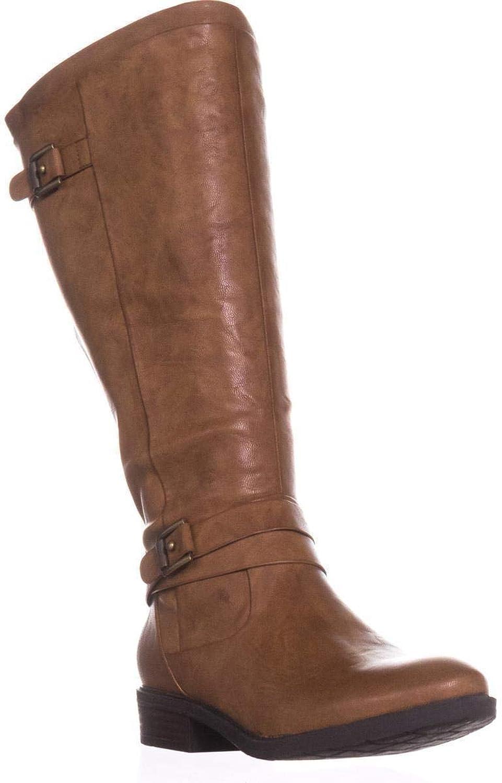 BareTraps Yalina2 Wide Calf Comfort Boots, Black