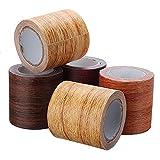 LiuliuBull wasserdichte Holzkornreparatur Klebeband Selbstklebende Wandpapier Türschrank Möbel Aufkleber Möbel Dekor Tapete