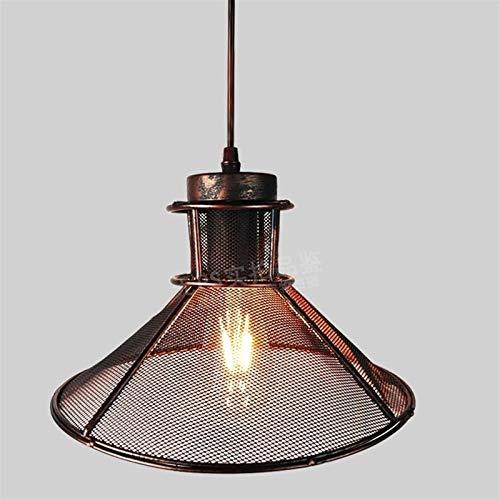 Retro iluminación industrial Lámpara de techo Metal Loft Colgante Lámpara Nórdica Edison Lámparas Colgantes Lámparas Lámparas de Jaula Lámpara de araña Cable de cabecera Iluminación para interiores pa