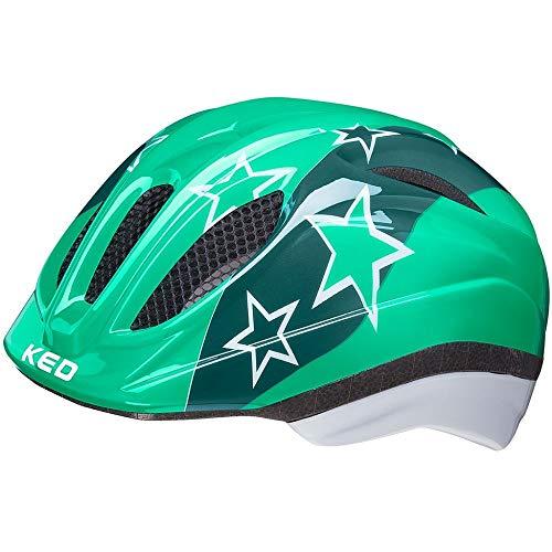 KED Meggy II Helm Kinder grün/weiß Kopfumfang XS | 44-49cm 2021 Fahrradhelm