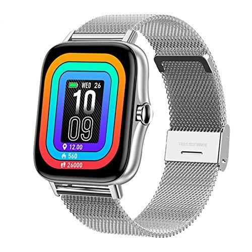 ZGNB 1.7 Pulgadas Pantalla Grande T42 Smart Watch Llamada Bluetooth Smartwatch Smartwatch para iOS Android para Hombres Y Fitness De Mujer,F