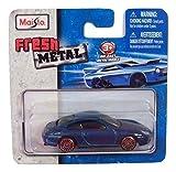 Maisto Fresh Metal Die-Cast Vehicles ~ 1997 Porsche 911 Carrrera (Metallic Blue)