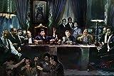 Gangsters Last Supper Poster Drucken (91,44 x 60,96 cm)