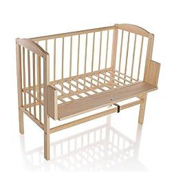 BABYBLUME Kinderbett Gitterbett Beistellbett Maria 90x40cm (keine Matratze, Kiefer)
