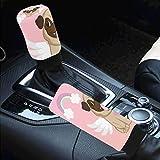 Car Interior Accessiores for Women Men -auto Gear Shift Knob Cover Handbrake Cover Unicorn...