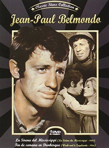 Jean Paul Belmondo La Sirena del Mississippi (La sirene du Mississippi 1969) + Fin de Semana en Dunkerque (Week-end à Zuydcoote 1964) 2 DVD