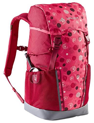 VAUDE 15477 Unisex - Bambini Zaini 10-14L, Bright Pink/Cranberry, 14 Litri