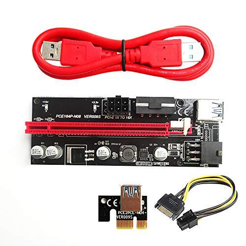 Adaptateur de carte graphique polyvalent Câble d'alimentation de carte durable 16X Extender pour carte graphique