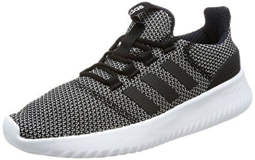 adidas Cloudfoam Ultimate, Herren Laufschuhe,Schwarz (Core Black/Ftwr White),42 2/3 EU