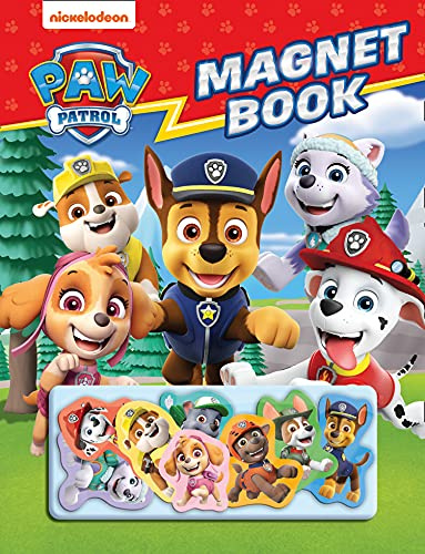 Paw Patrol Magnet Book: With magnetic PAW Patrol characters!
