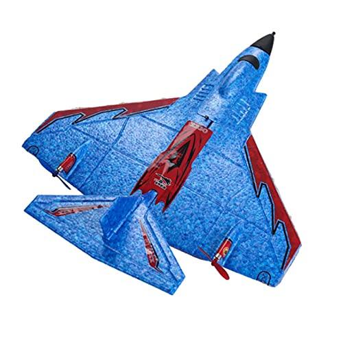 YQTXDS Mini avión planeador de 320 mm RC avión envergadura EPP aviones de drone cabeza de silicona 2.4 GHz con control remoto (juguetes RC)