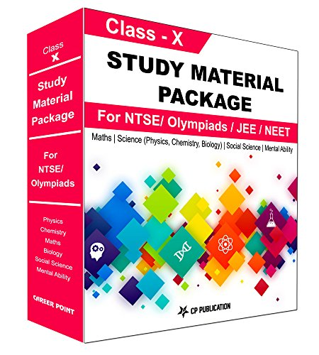 Class 10th Foundation Study Material Package For NTSE/ Olympiad By Career Point Kota