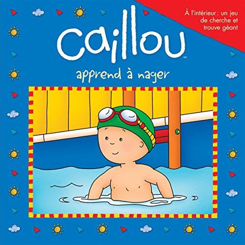 Caillou apprend à nager