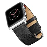 Benuo Apple Watch Armband 42mm, Echtes Leder Uhrenarmband für Apple Watch Series 2-42mm/...