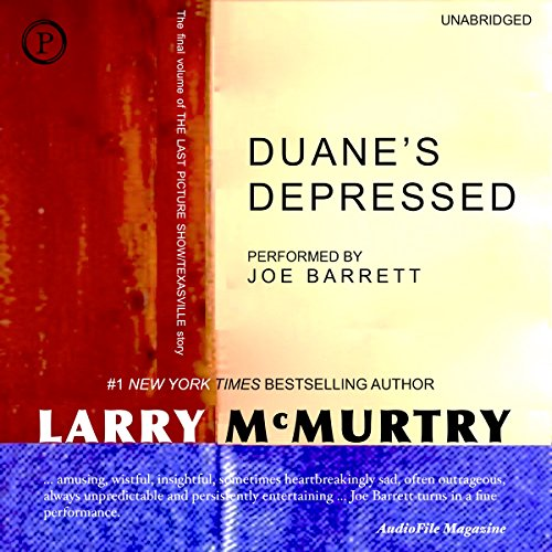 Duane's Depressed Audiobook By Larry McMurtry cover art