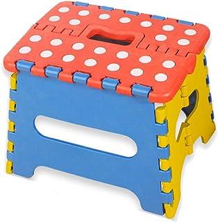 DXIA Marchepied Pliable et Portable, Petit Marchepied Pliant, Antiglisse Marche Pied, Tabouret Pliantes pour Enfants et Ad...