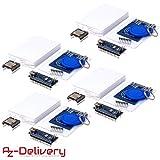 AZDelivery 4 x TonUINO Set für Arduino (Mp3 Player, Nano V3.0, RFID Kit und 10 x 13,56 MHz RFID Karten) inklusive E-Book!