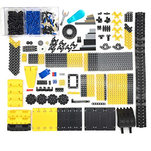 12che 530 Pezzi connettori Travi Parti Fai da Te Parti per Lego Technic, Technic Vehicle