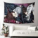 Vdsdsf Vampire Knight Tapestry Wall Tapestry for Bedroom Living Room Blanket Wall Hanging Decoration for Apartment Home Art 90✖60(in)