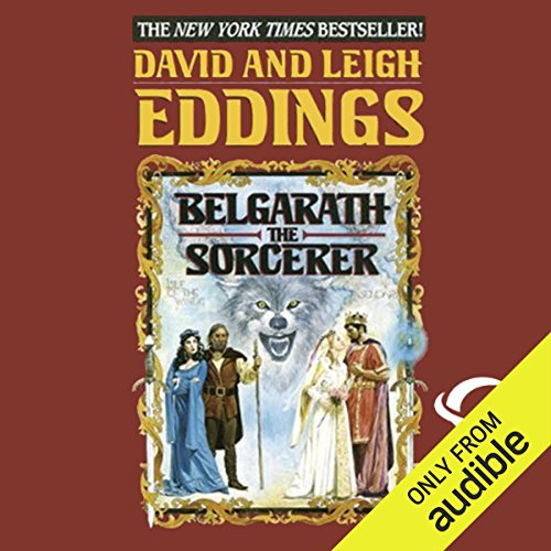 Belgarath the Sorcerer audiobook cover art