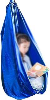 Jlxl Sensoriska gungor för autistiska barn Inomhus Cuddle Hammock Justerbar Aerial Yoga med autism ADHD Aspergers Integrat...