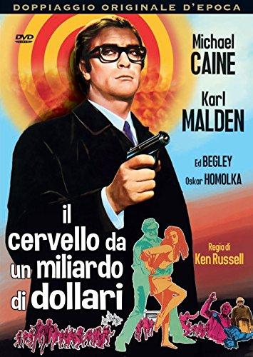 il cervello da un miliardo di dollari registi ken russell genere crime anno produzione 1967 [Italia] [DVD]