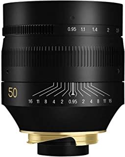TTArtisan 50mm F0.95 Full Fame Lens for Leica M-Mount Cameras Like Leica M-M M240 M3 M6 M7 M8 M9 M9p M10
