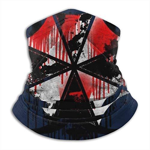 Sword Dynasty Resident Evil Umbrella Corp Blood Splatter Gesichtsschutz Bandanas für Staub, Outdoor, Festivals, Sport