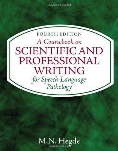 A Coursebook on Scientific and Professional Writing for...