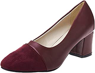 1461eaf9bc0 Covermason Moda mujer Elegante tacón alto Zapatos puntiagudos Zapatos  casuales Zapatos de boda(