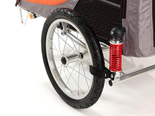 PetEGO Comfort Wagon Fahrrad Pet Trailer, groß