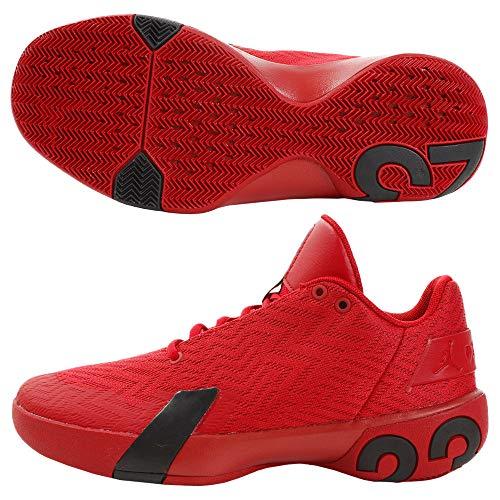 Nike Herren Jordan Ultra Fly 3 Low Basketballschuhe, Rot (Gym Red/Black 600), 44 EU
