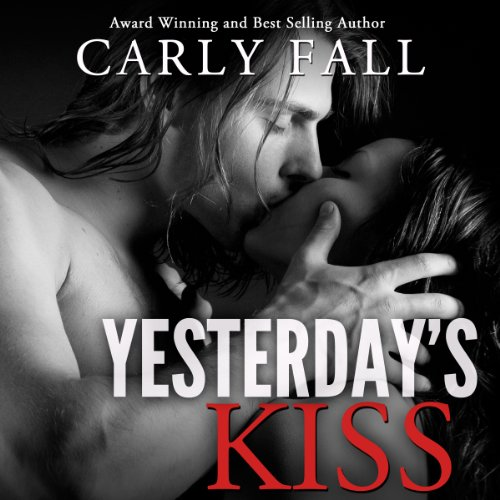 Yesterday's Kiss audiobook cover art