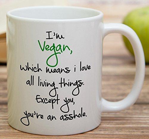 Funny Vegan Coffee Mug