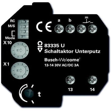 Schaltaktor 2fach 6933 U OVP Busch-Jaeger EIB KNX Powernet Jalousieaktor 1fach